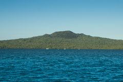 Aucklands Iconic Rangitoto Island Royalty Free Stock Images