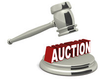 Auction Royalty Free Stock Images