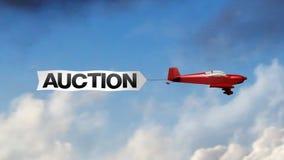 Auction Airplane Banner (Center)