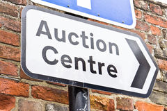 Auction centre Royalty Free Stock Photo