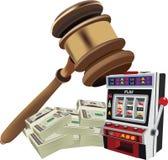 Auction court auction up Stock Photos