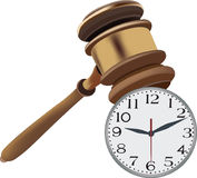 Auction court auction up Royalty Free Stock Images