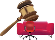 Auction court auction up Royalty Free Stock Photography