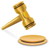 Auction gavel Royalty Free Stock Photos