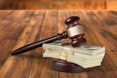 Auction Gavel Stock Photography
