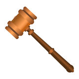 Auction Gavel Icon Stock Images