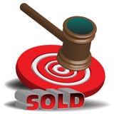 Auction hammer Stock Photos