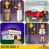 Auction images Royalty Free Stock Image