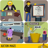 Auction images Royalty Free Stock Images