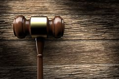 Auction/justice gavel. 3D rendering of an auction/justice gavel stock illustration