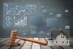 Auction Royalty Free Stock Image