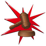 Auction_mallet Stock Images