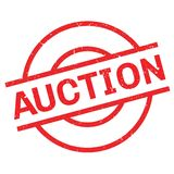 Auction rubber stamp Stock Images