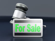 Auction sale Royalty Free Stock Photography