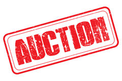 Auction stamp Royalty Free Stock Photo