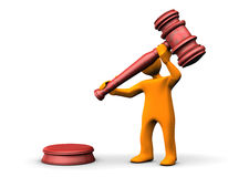 Auctioneer Royalty Free Stock Photo