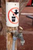 Aucun boire Photos libres de droits