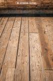 Aucun bois à lamelles de bâti aérien Photographie stock libre de droits