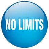 aucun bouton de limites illustration libre de droits