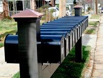 Aucun courrier Photos stock