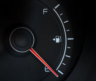Aucun détecteur de carburant Image libre de droits