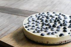 Aucun faites le gâteau au fromage cuire au four Photographie stock libre de droits