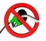 Aucun gaz grand Image libre de droits