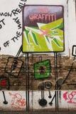 Aucun graffiti Images libres de droits