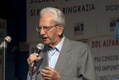 Aucun jour de Bavaglio - Carlo Smuragliase Photographie stock libre de droits