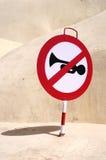 Aucun klaxon Photo libre de droits