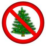 Aucun Noël pour vous ! Photo stock