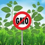 Aucun OGM illustration de vecteur
