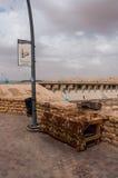 Aucun panneau de chicha en dehors de Riyadh, Arabie Saoudite photo libre de droits