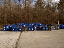 Aucun ramassage d'ordures Image stock