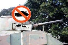 Aucun signal de guerre Images libres de droits