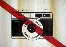 Aucun signe de photo Photographie stock libre de droits