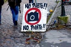 Aucun signe de photo photos stock