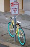 Aucun stationnement Photos stock