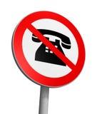 Aucun téléphoner Photos libres de droits