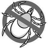 Aucun Tick Sign Photo libre de droits
