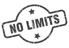 Aucun timbre de limites illustration libre de droits
