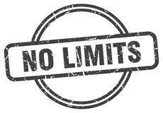 Aucun timbre de limites illustration de vecteur