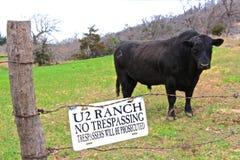 Aucun Tresspassing Photographie stock libre de droits
