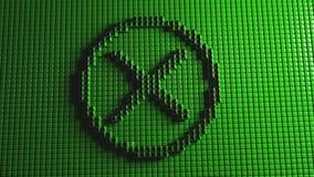 AUCUNE animation d'icône illustration de vecteur