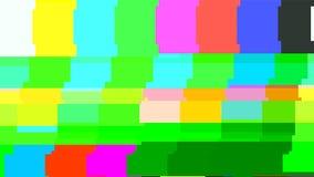 Aucune carte-test du signal TV Déformation de problème de Digital Illustration de vecteur Photographie stock
