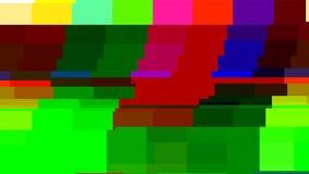 Aucune carte-test du signal TV Déformation de problème de Digital Illustration de vecteur Photo libre de droits