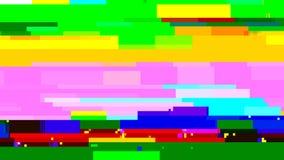 Aucune carte-test du signal TV Déformation de problème de Digital Illustration de vecteur Photographie stock libre de droits