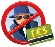 Aucune fraude ! Image stock