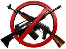 Aucune guerre Images libres de droits