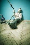 Aucune humeur pour le nettoyage Photographie stock libre de droits